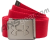Under Armour Webbed Belt - Red/Graphite (600)
