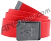 Under Armour Webbed Belt - Rocket Red/Graphite (984)