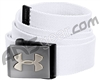 Under Armour Webbed Belt - White/Graphite (100)