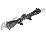 Bravo Airsoft Scope 4x32 Adjustable Object with Rings