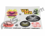 Valken 10 Piece Sticker Sheet
