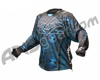 2012 Valken Redemption Paintball Jersey - Blue Slash