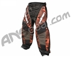 2012 Valken Redemption Paintball Pants - Orange Slash