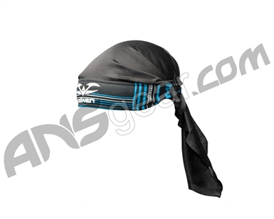 2012 Valken Crusade Paintball Headwrap - Tron Blue