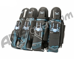 2012 Valken Crusade Paintball Harness 4+7 - Tron Blue
