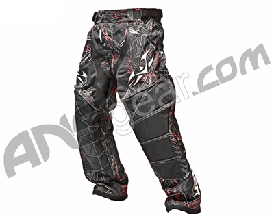 2012 Valken Crusade Paintball Pants - Static Red