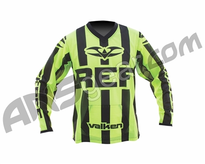 Valken Long Sleeve Paintball Referee Jersey - Highlighter