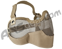 Valken 3G Wire Mesh Tactical Airsoft Mask - Tan