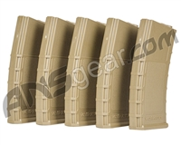 Valken RMAG Mid-Cap Thermold 140rd Magazine (5 Pack) - Tan (72745)