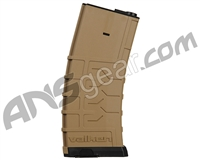 Valken V-Flash Magazine By Merens For M4 series 300 Rounds - Tan (86858)