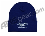 "Valken 12"" Logo Beanie - Royal Blue"