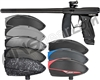 Valken Code Paintball Gun w/ VSL Loader Package Kit - Black