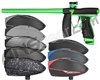 Valken Code Paintball Gun w/ VSL Loader Package Kit - Monster Green