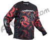 Valken Crusade Paintball Jersey - Riot Red