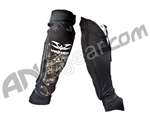 2010 Valken Paintball Elbow Pads - Black
