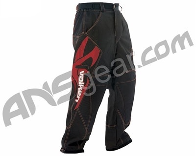 2012 Valken Fate Paintball Pants - Red - Large