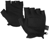 Valken Half Finger Soft Padded Paintball Gloves - Black