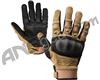 Valken Zulu Full Finger Tactical Paintball Gloves - Tan
