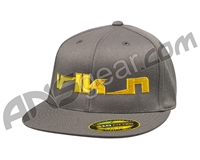 Valken VLKN FlexFit Hat - Dark Grey/Yellow