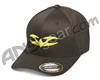 Valken V Logo FlexFit Hat - Neon Yellow