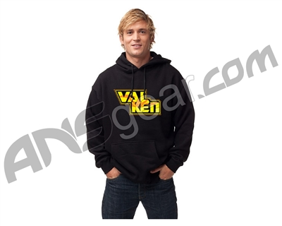 Valken Broken Pull Over Hooded Sweatshirt - Black