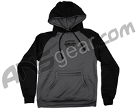Valken Deployment Pull Over Hooded Sweatshirt - Black/Grey