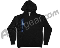 Valken Side Logo Zip Up Hooded Sweatshirt - Dark Grey
