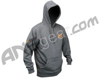 Valken Tailgate Pull Over Hooded Sweatshirt - Dark Grey