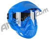 Valken MI-3 Gotcha Paintball Mask w/ Top Strap - Blue