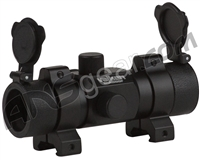 Valken Tactical Red Dot Sight 1x30ST w/ Weaver Mount - Black