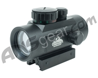 Valken Tactical Red Dot Sight 1x30 R/G w/ Weaver - Black (81389)