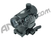 Valken Tactical Red Dot Sight 1x22 R/G/B w/ Weaver Quick Release - Black