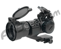 Valken Tactical 1x30 R/G/B Red Dot Sight w/ Weaver Cantilever (HD30M3)