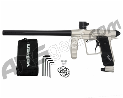 Valken Proton Paintball Gun - Stainless/Black