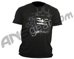 2010 Valken Paintball Coat of Arms T-Shirt - Black