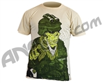 2010 Valken Paintball Wants You T-Shirt - Cream