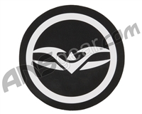 Valken Logo Round Sticker - Black/White