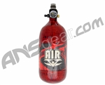 Valken 45/4500 Compressed Air Paintball Tank - Hatch Red