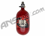 Valken 68/4500 Compressed Air Paintball Tank - Hatch Red