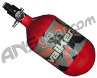 Valken Zero-G Riot 68/4500 Compressed Air Tank - Red