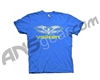 Valken Paintball Scribbled T-Shirt - Blue