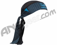 2015 Valken Redemption Vexagon Paintball Headwrap - Navy/Light Blue