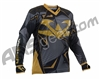 2015 Valken Redemption Vexagon Paintball Jersey - Black/Gold