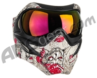 V-Force Grill Paintball Mask - Jolly Roger