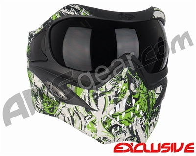 V-Force Grill Paintball Mask - Nightmare Lime