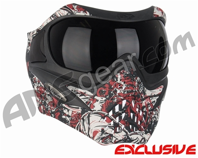 V-Force Grill Paintball Mask - Nightmare Red