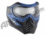 V-Force Grill Paintball Mask - Reverse Blue