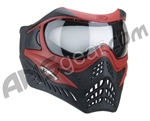 V-Force Grill Paintball Mask - Reverse Red