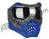 V-Force Grill Paintball Mask - SE Grey/Blue