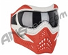 V-Force Grill Paintball Mask - SE White/Red